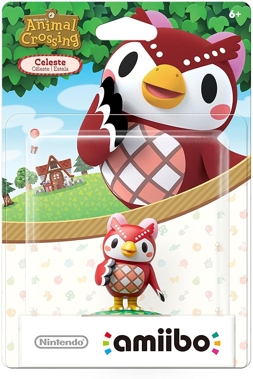 Animal Crossing Series Celeste amiibo. Інтерактивна фігурка amiibo