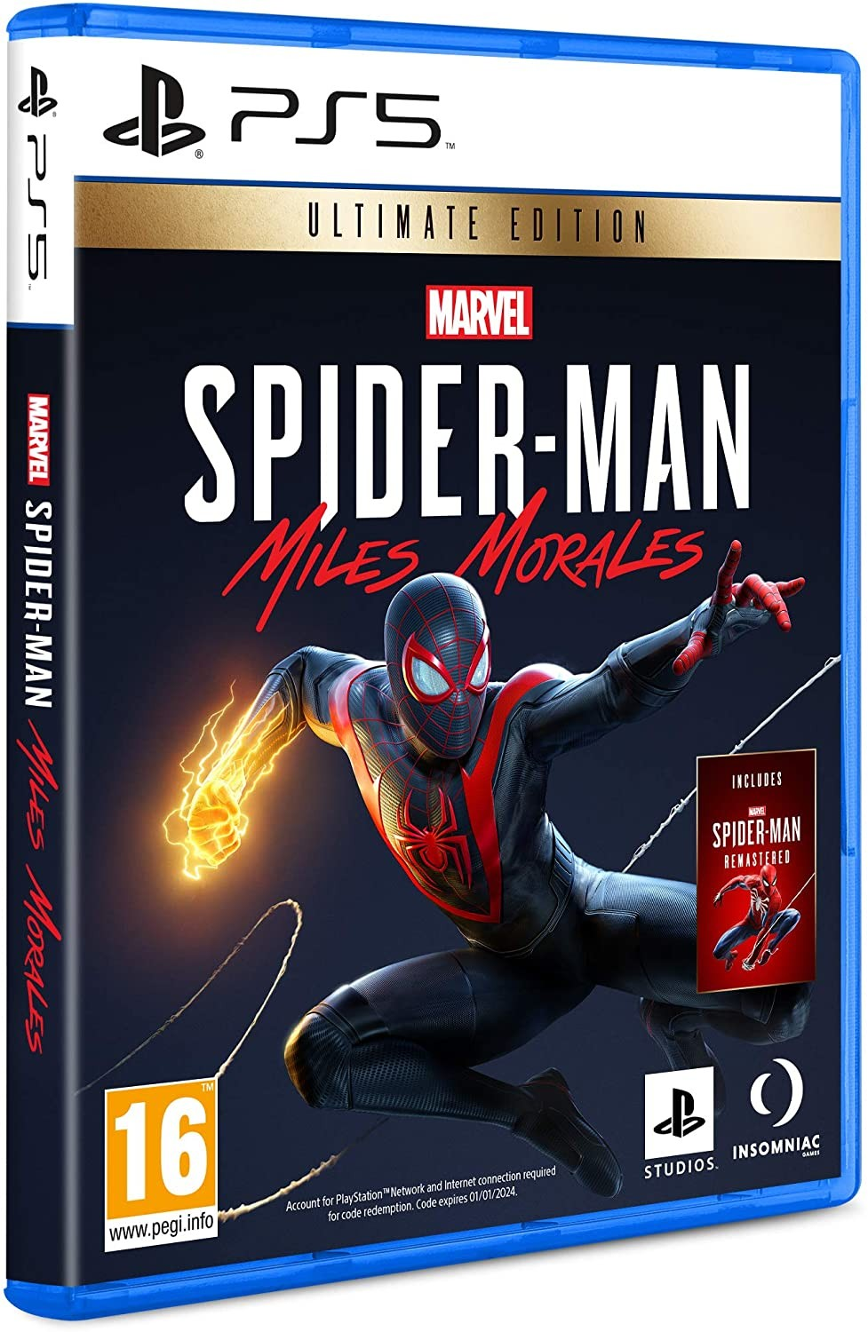 Marvel's Spider-Man Miles Morales Ultimate Edition | Marvel's Людина-павук Майлз Моралес PS5