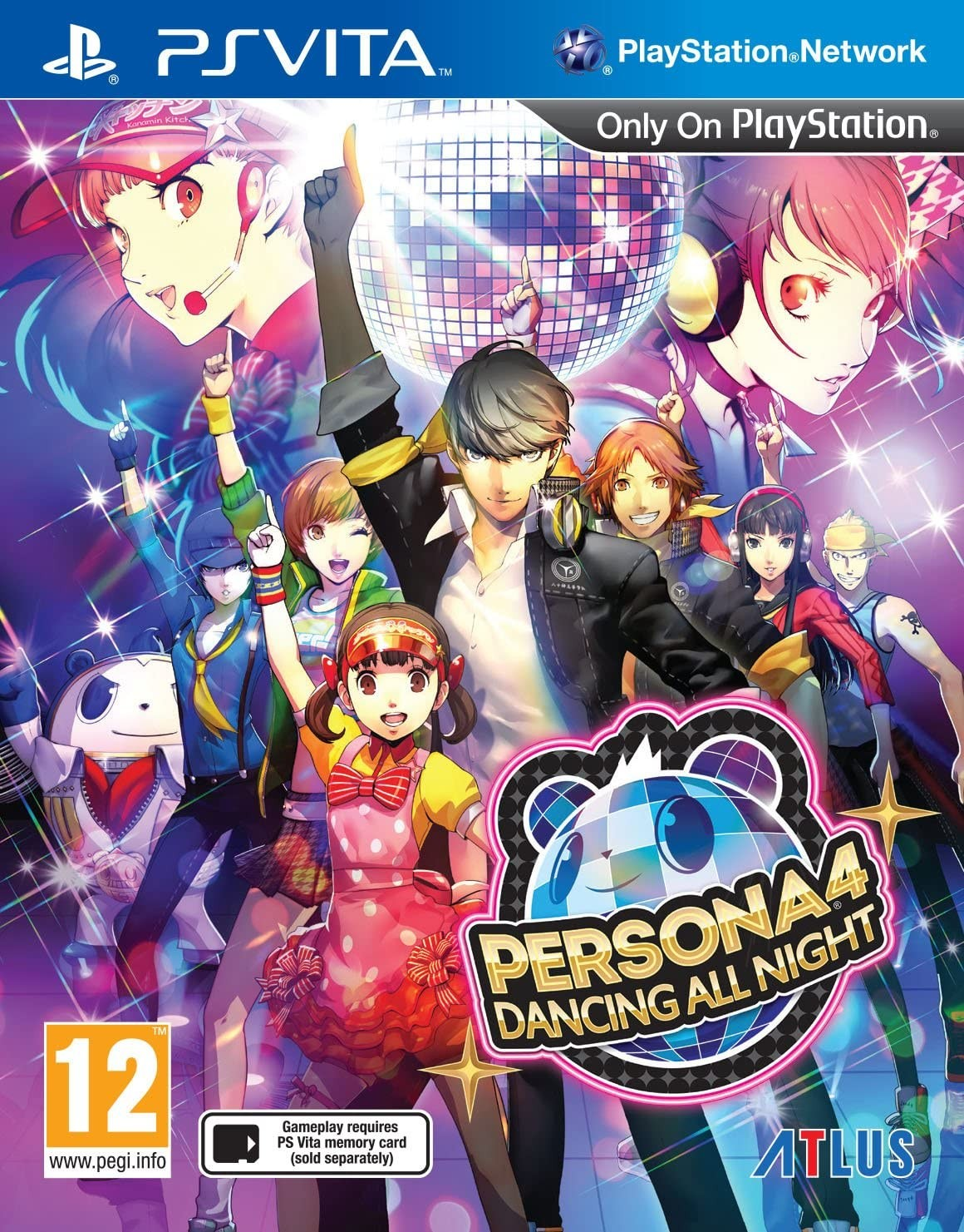 Persona 4 Dancing All Night PSV