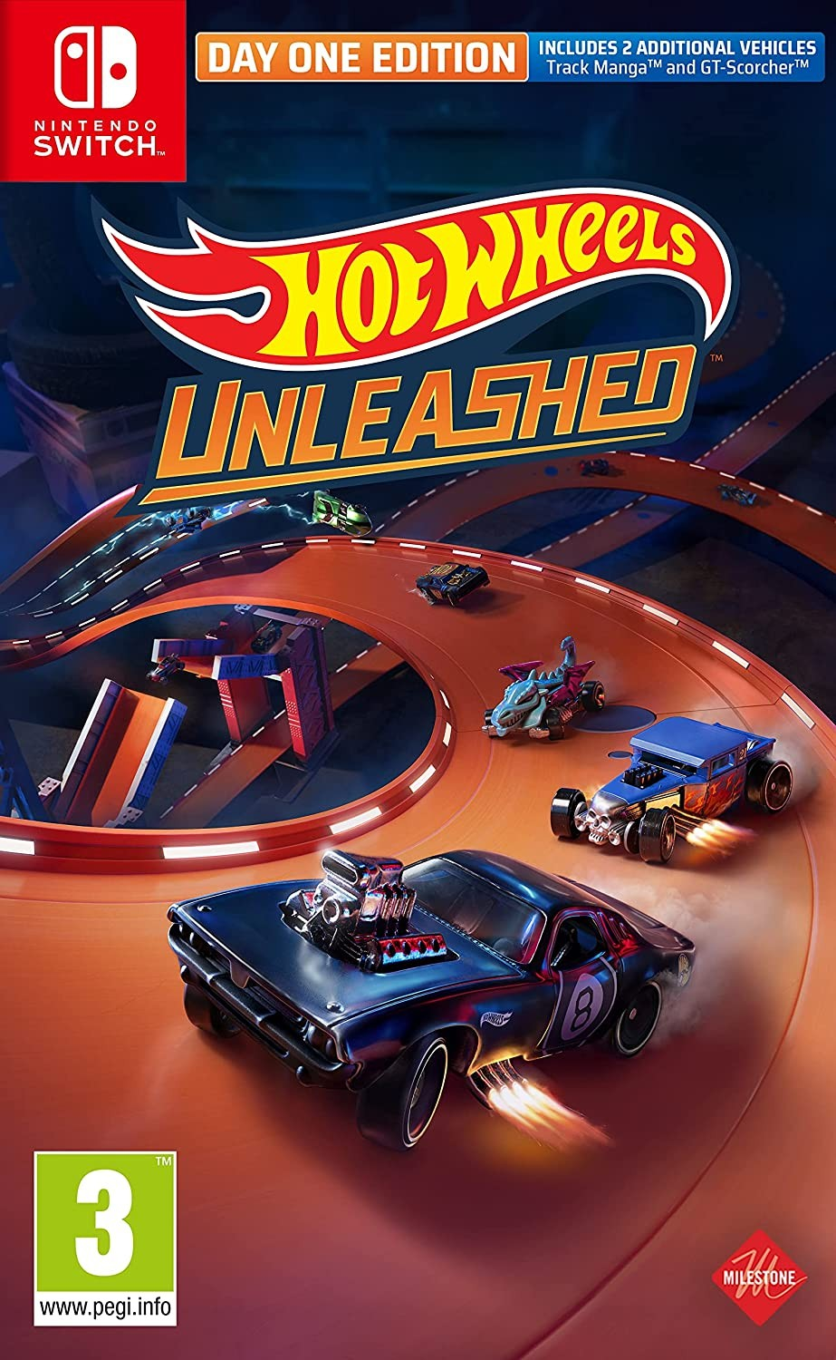 Hot Wheels Unleashed Day One Edition SWITCH