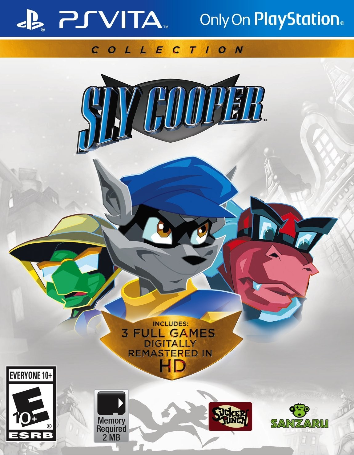 Sly Cooper Collection PSV