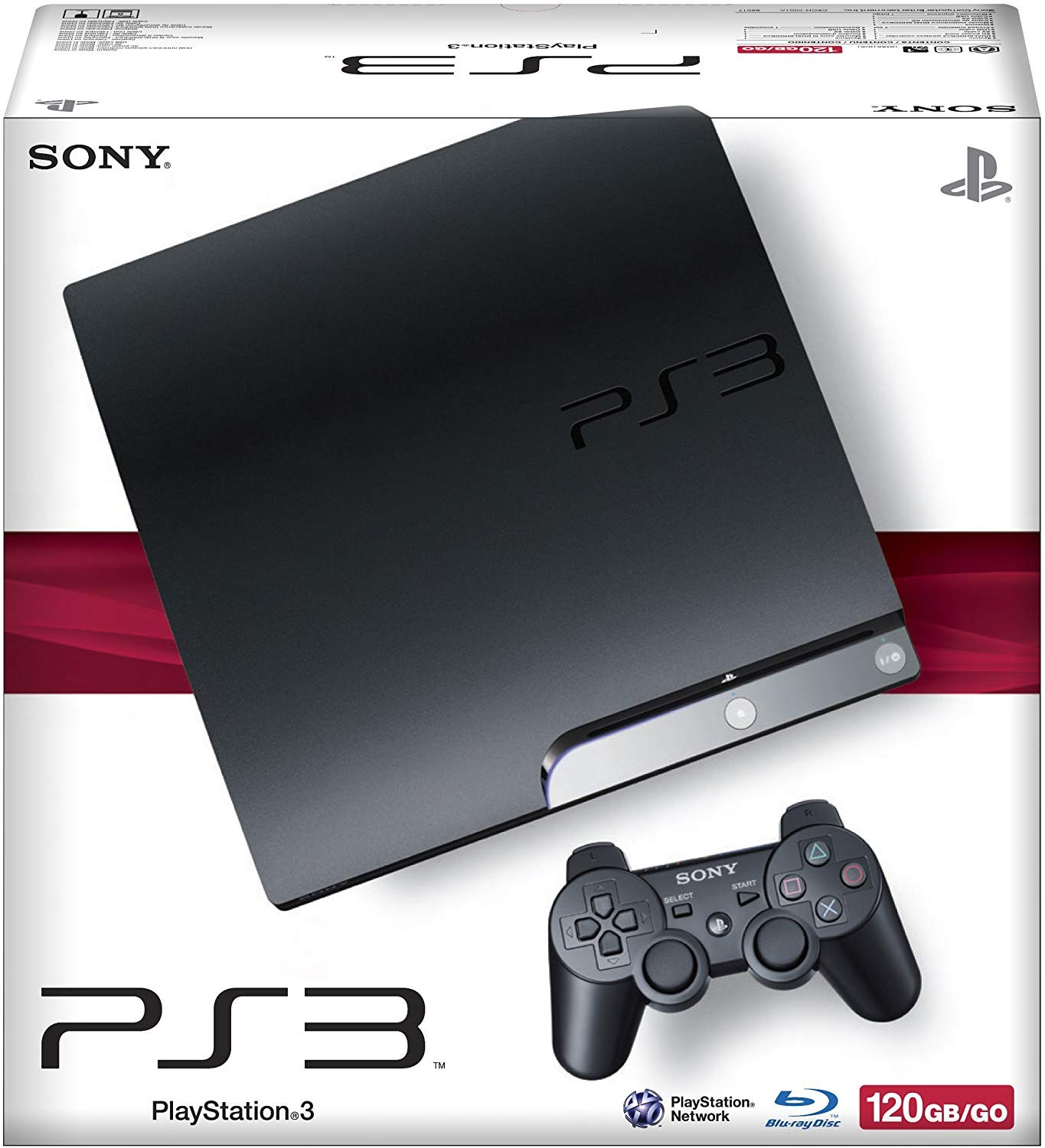 Sony PlayStation 3 Slim 120GB | PS3 Slim б/в