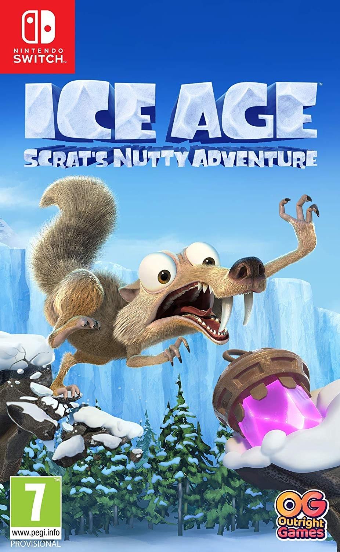 Ледниковый период: Сумасшедшее приключение Скрэта | Ice Age: Scrat's Nutty Adventure SWITCH