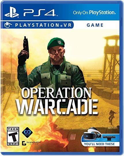 Operation Warcade VR (потрібен) PS4