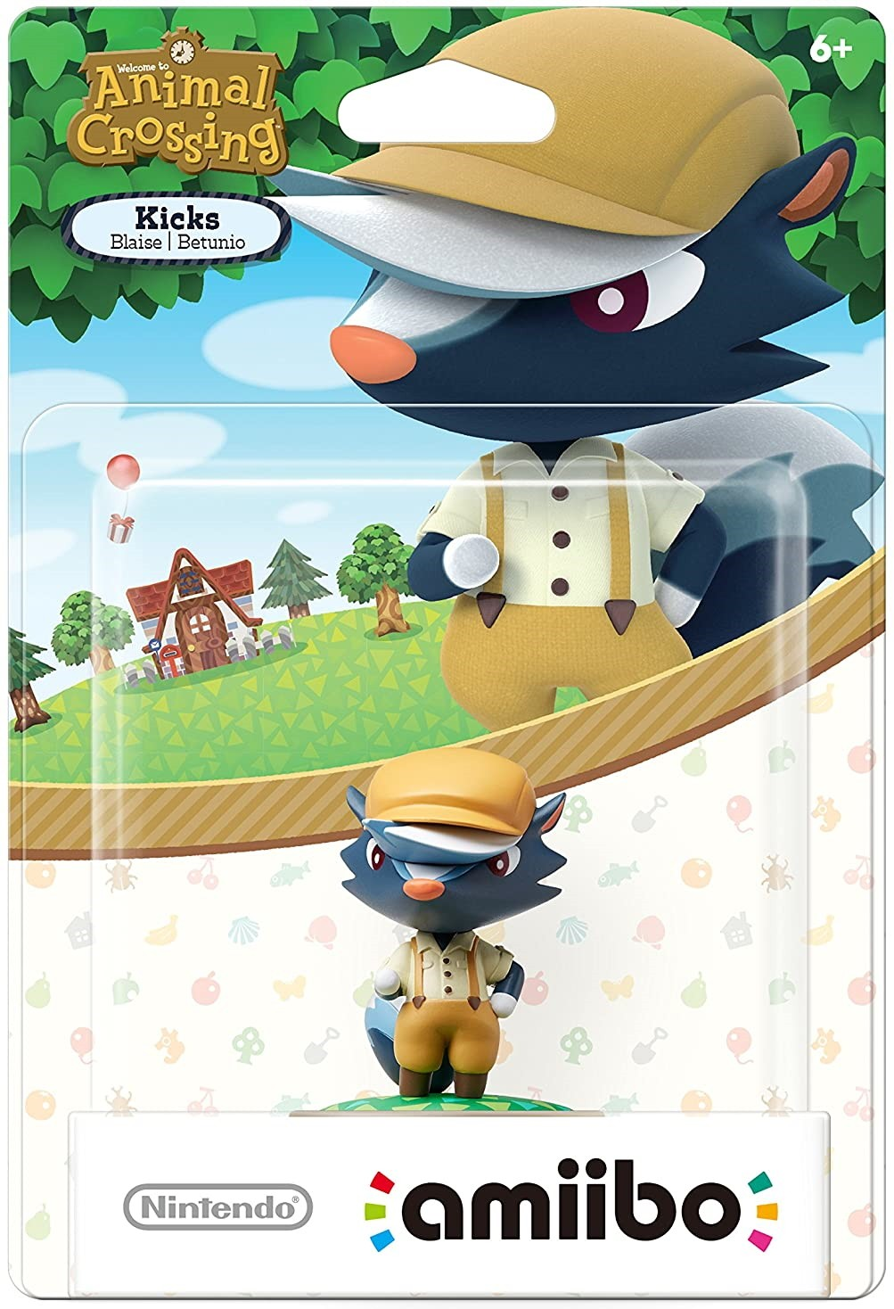 Animal Crossing Series Kicks amiibo. Интерактивная фигурка amiibo
