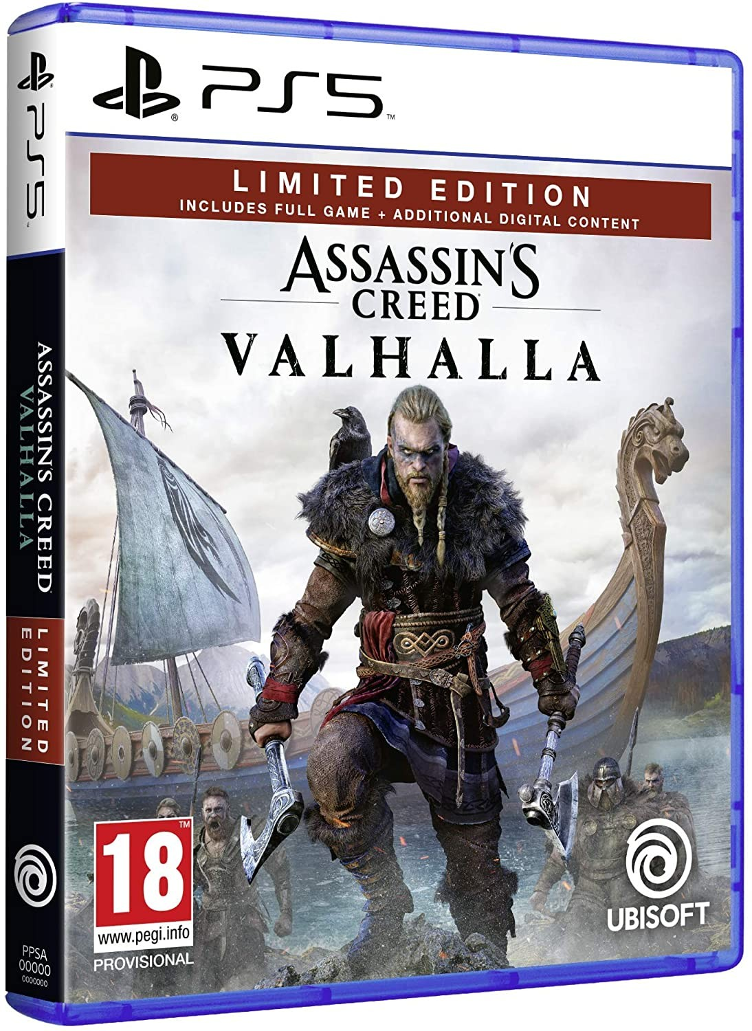 Assassin's Creed Valhalla Limited Edition | Assassin's Creed Вальгалла Лімітоване Видання PS5