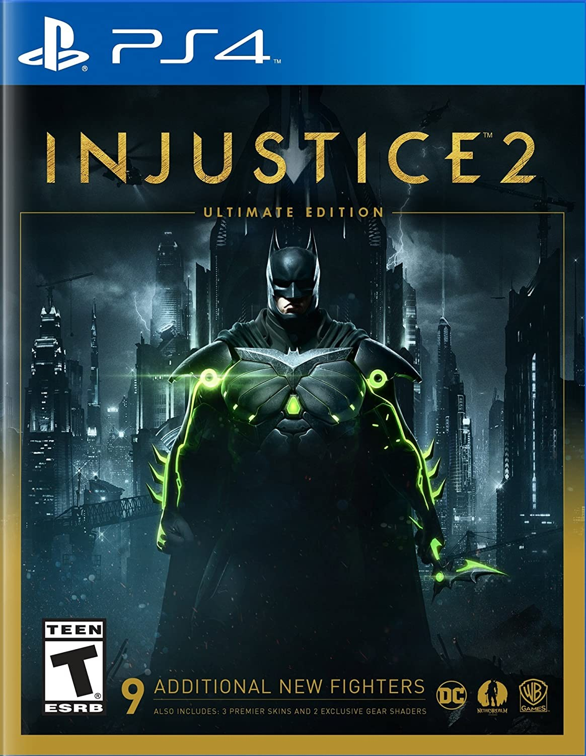 Injustice 2. Ultimate Steelbook Edition PS4