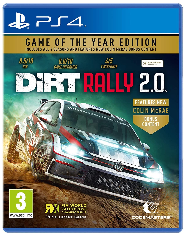 DiRT Rally 2.0 GOTY PS4