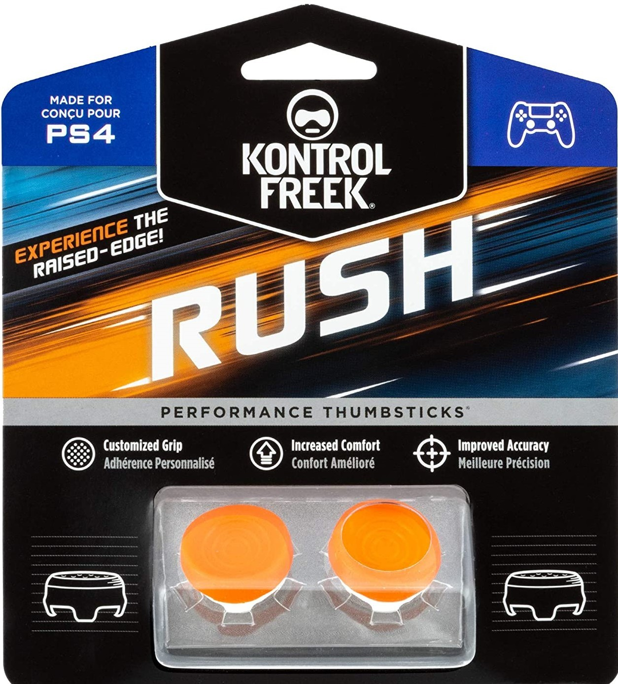 Rush KontrolFreek | Performance Thumbsticks | Накладки на стики PS4/PS5