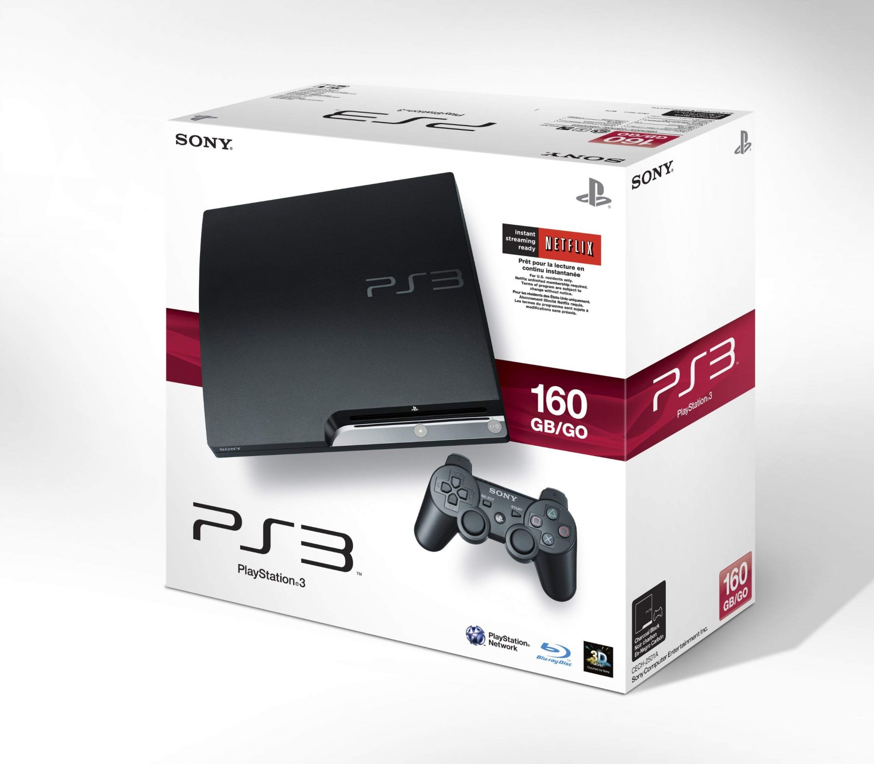 Sony PlayStation 3 Slim 160GB | PS3 Slim 160GB б/в