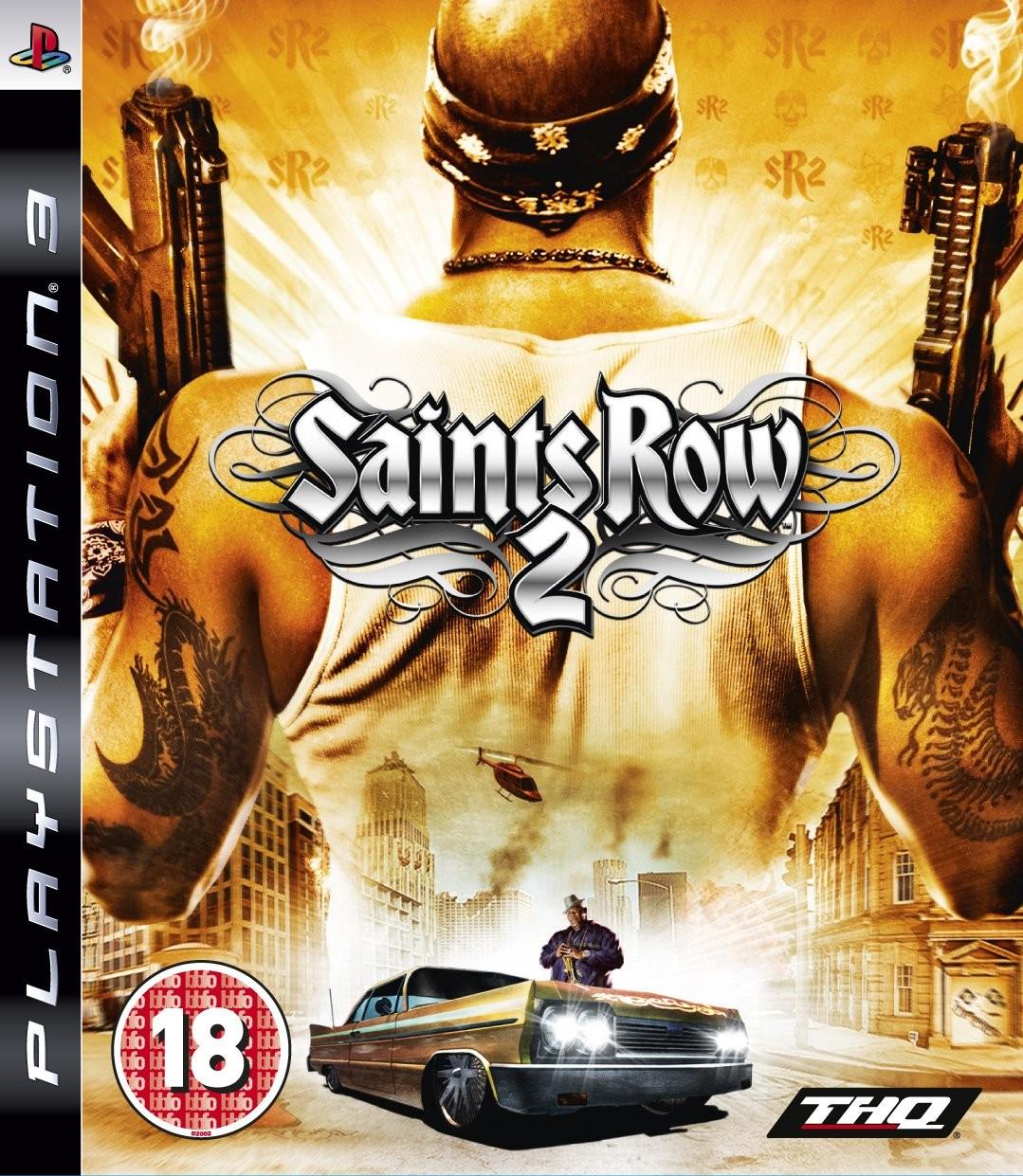 Saints Row 2 б/в PS3
