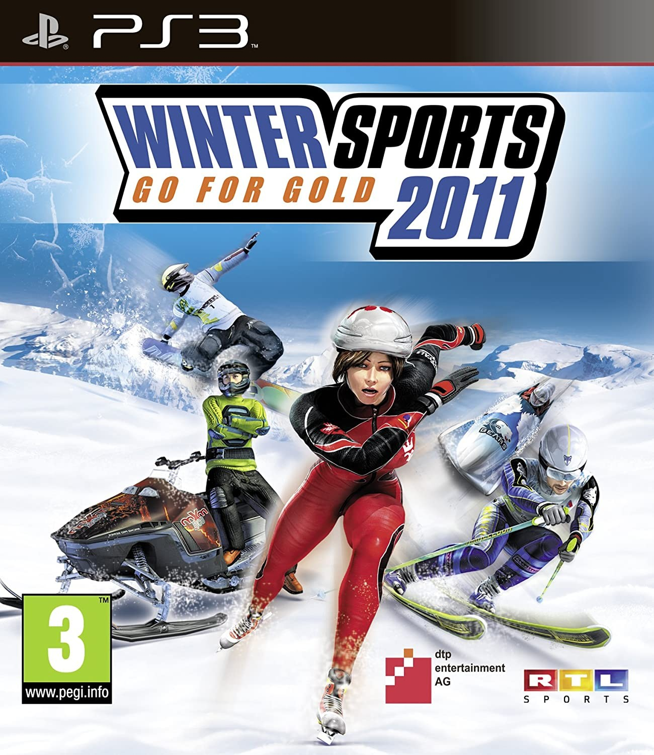 Winter Sports 2011 Go for Gold б/в PS3