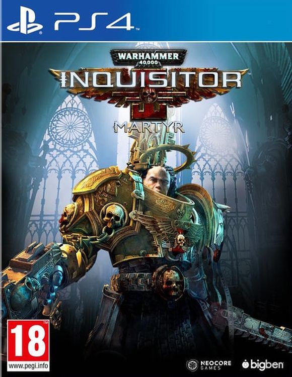 Warhammer 40,000: Inquisitor - Martyr. Deluxe Edition PS4