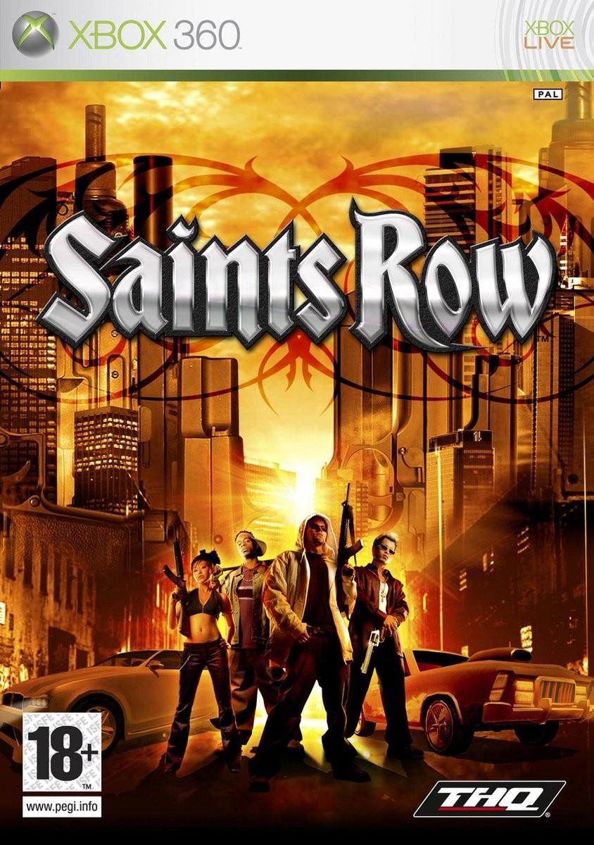 Saints Row б/в X360