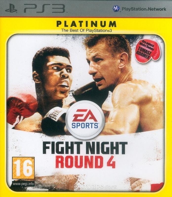 Fight Night Round 4 Platinum б/у PS3