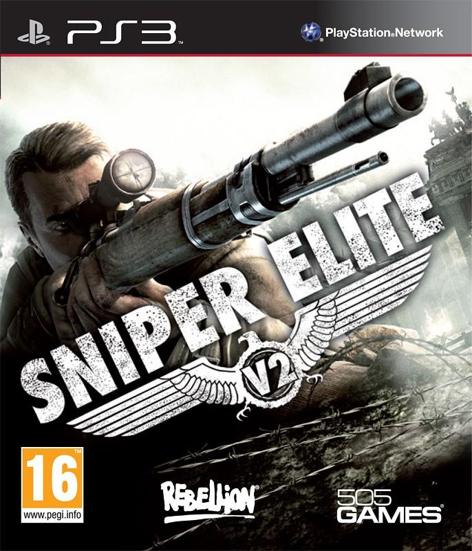 Sniper Elite V2 б/в PS3