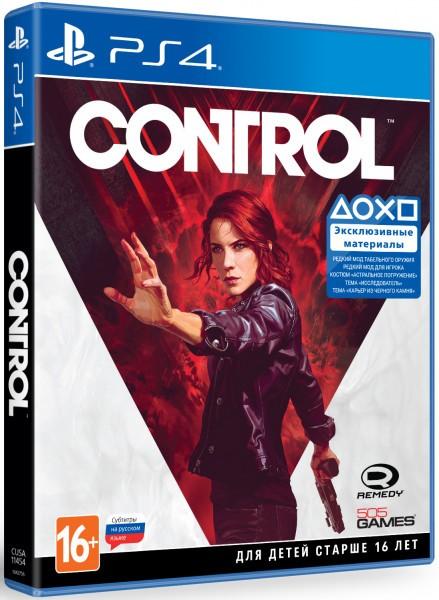 Control б/у PS4