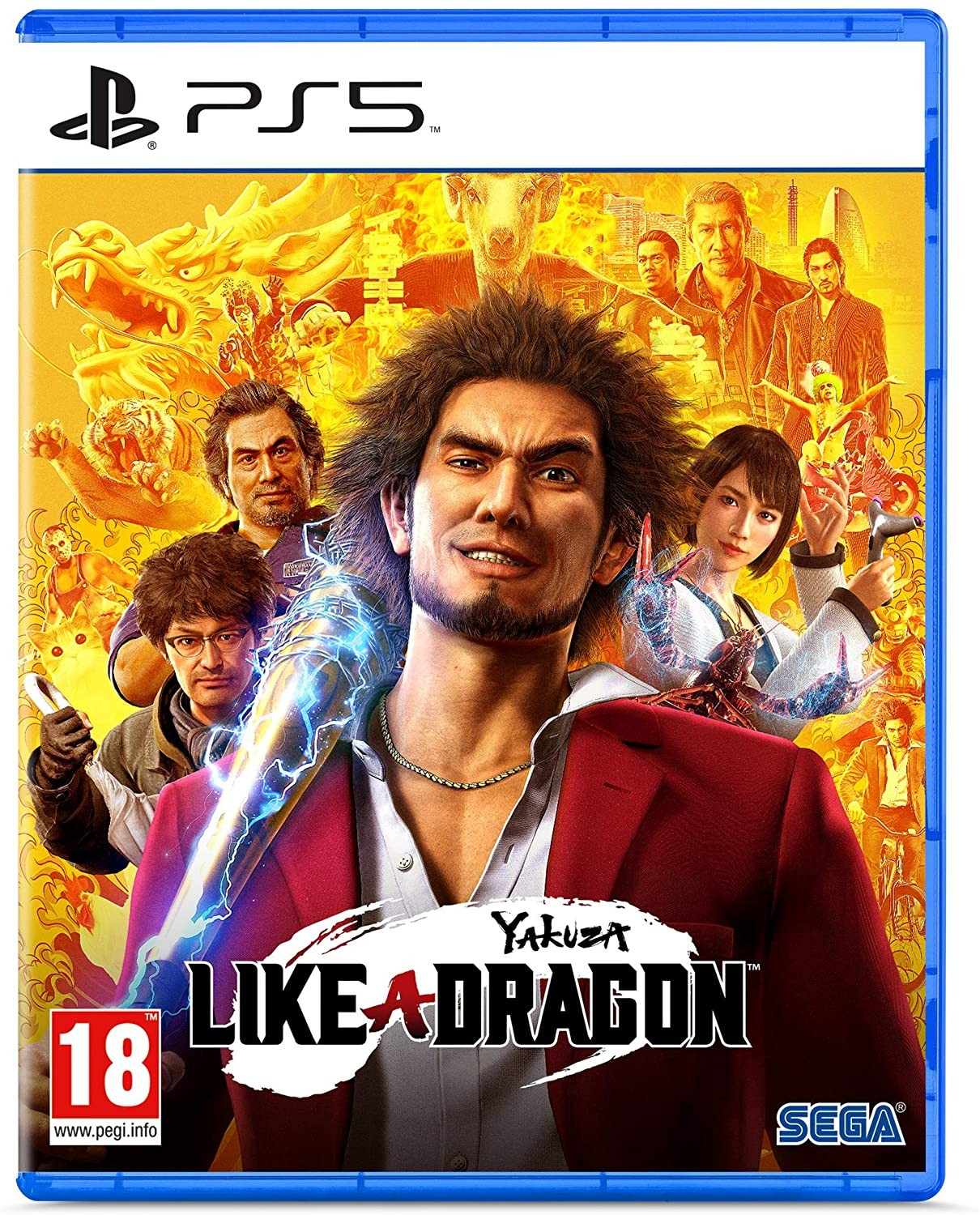 Yakuza Like a Dragon Day Ichi Edition PS5