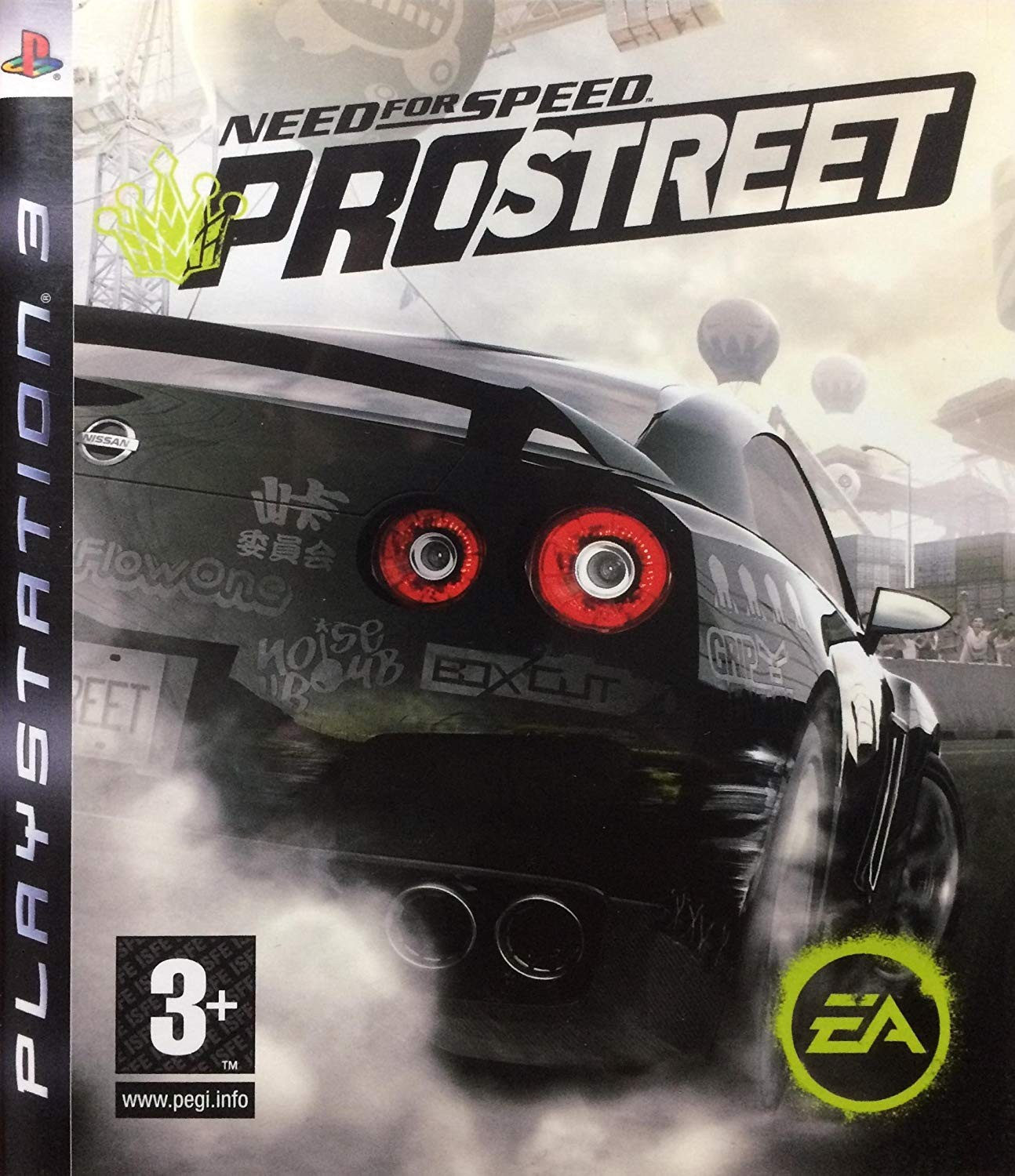 Need for Speed ProStreet | NFS б/у PS3