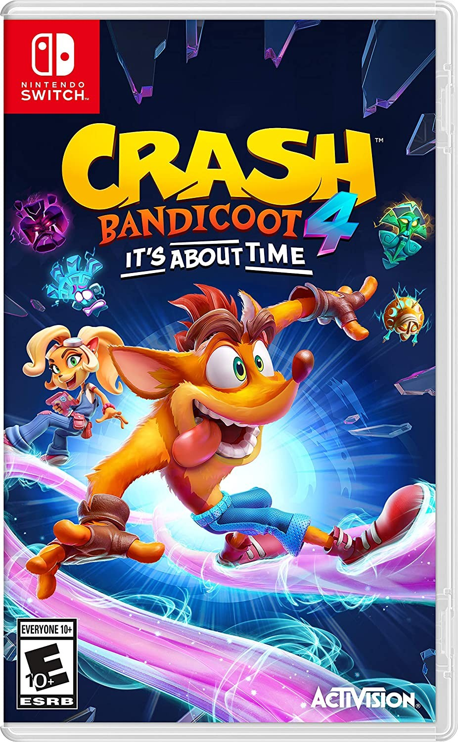 Crash Bandicoot 4 It's About Time SWITCH
