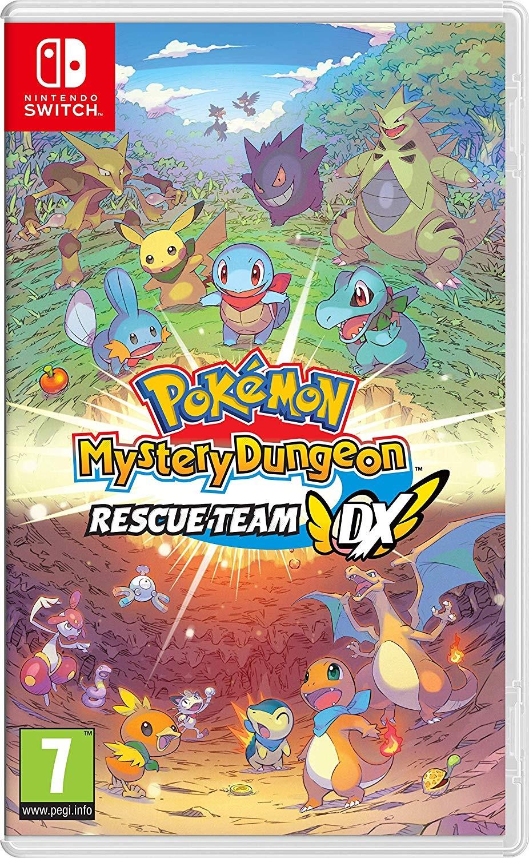 Pokémon Mystery Dungeon: Rescue Team DX б/в SWITCH