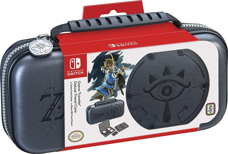 Захисний чохол Nintendo Switch Zelda Breath of the Wild - Sheikah Eye Deluxe Travel Case (Сірий) SWITCH