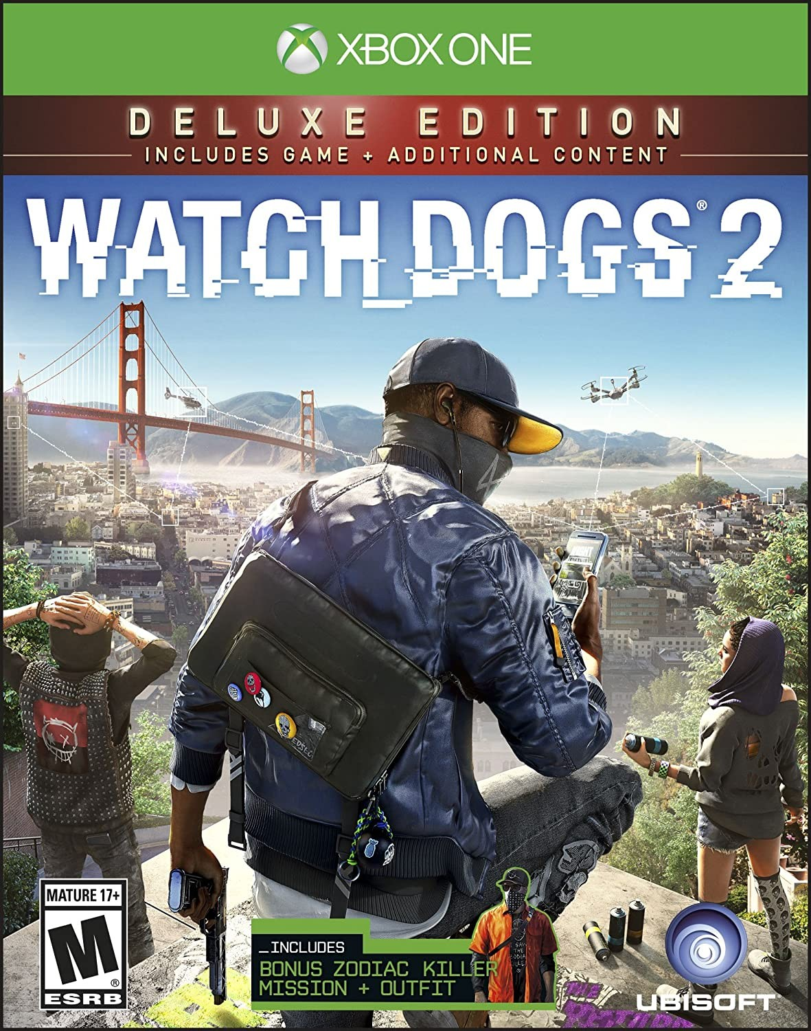 Watch Dogs 2 Deluxe Edition XONE