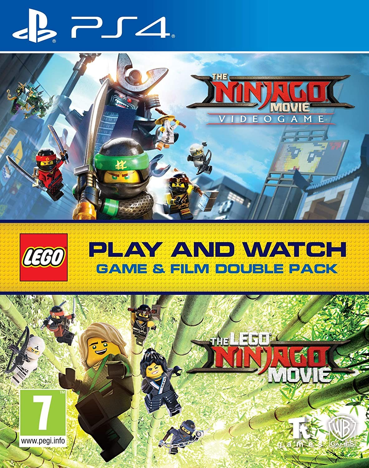 Lego Ninjago Game & Film Double Pack PS4