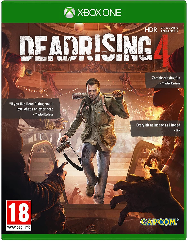 Dead Rising 4 б/у XONE