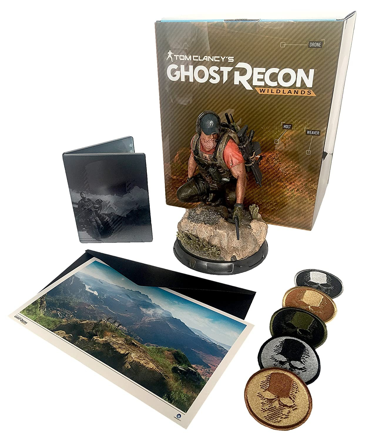 Ghost Recon Wildlands Triforce Ghost Edition PS4