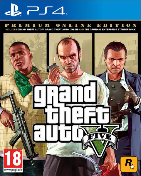 Grand Theft Auto V | GTA 5 Premium Online Edition PS4