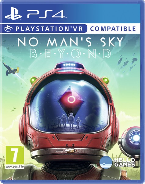No Man's Sky. Beyond VR PS4