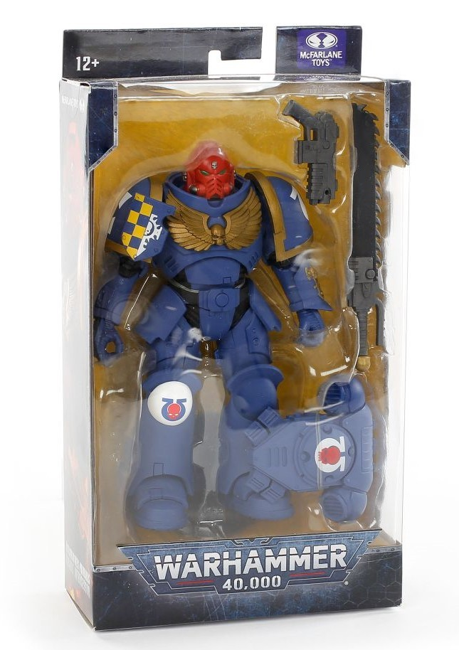 McFarlane Toys Warhammer 40,000 Ultramarines Primaris Assault Intercessor игрушка