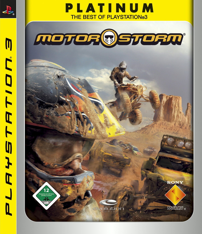 MotorStorm Platinum б/в PS3
