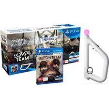 PlayStation VR Aim Controller + Bravo Team | Контролер/джойстик/геймпад (тільки для VR)