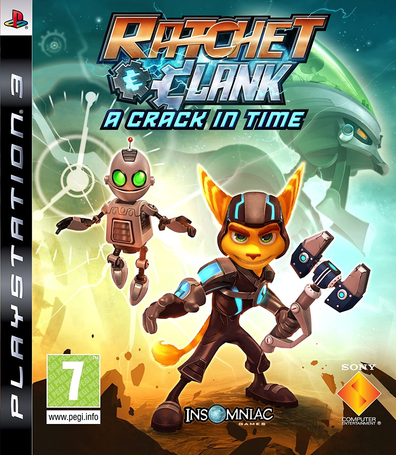 Ratchet & Clank A Crack in Time б/у PS3