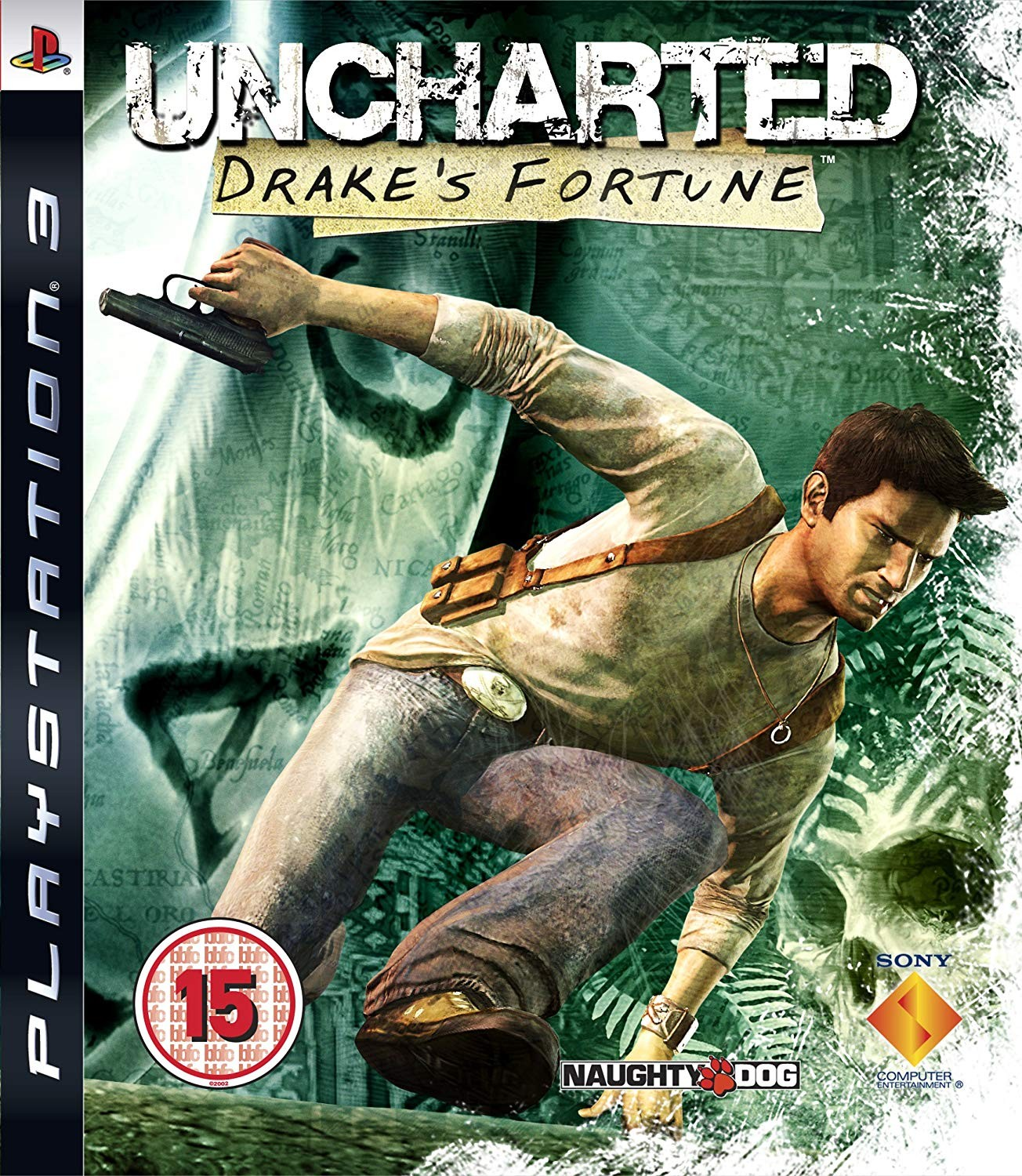 Uncharted Drake's Fortune | Uncharted Фортуна Дрейка б/у PS3
