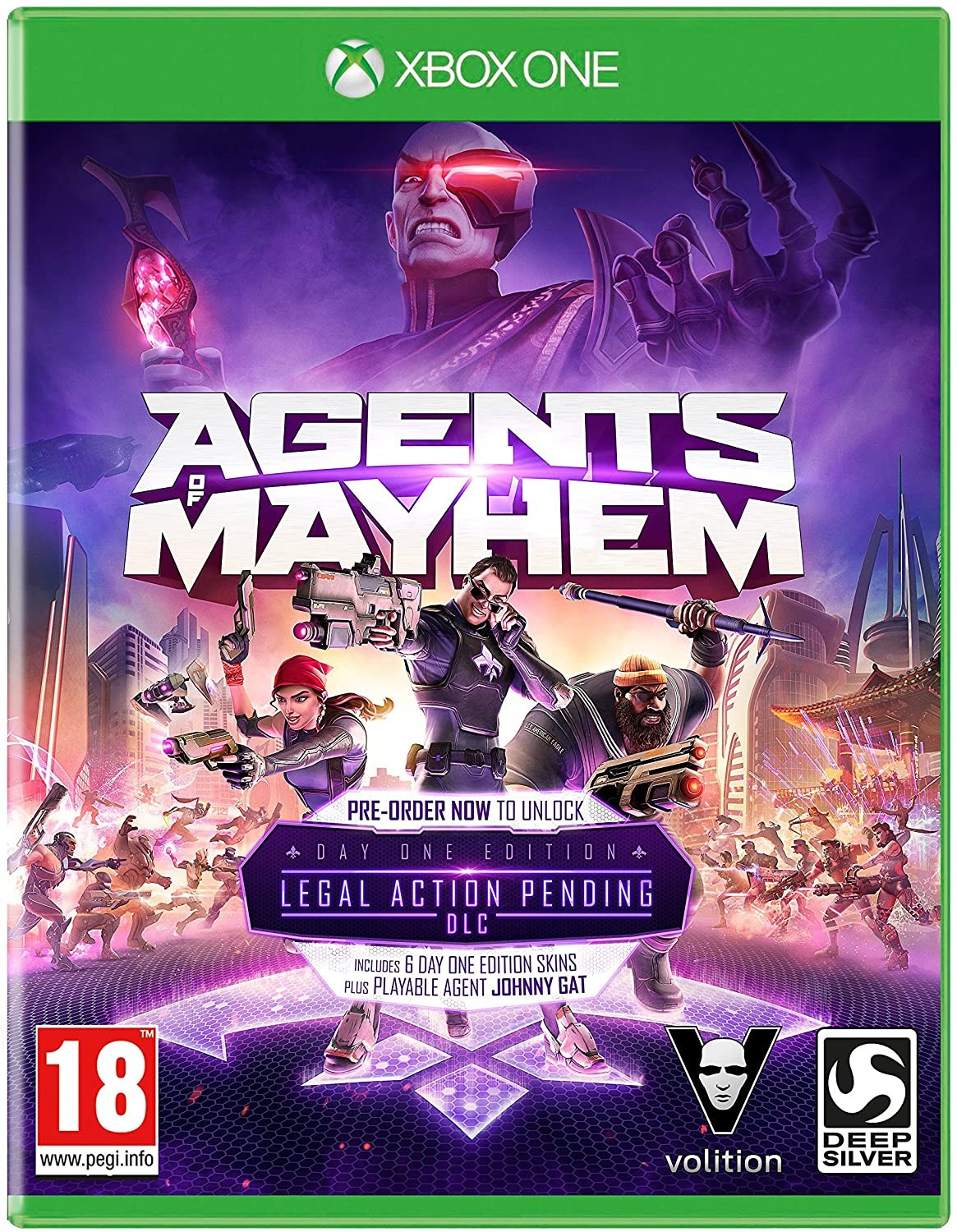 Agents of Mayhem Видання першого дня | Agents of Mayhem Day One Edition XONE