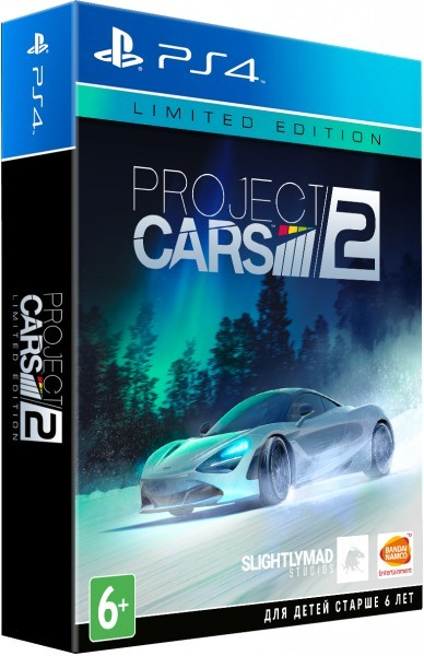 Project Cars 2. Limited Edition PS4