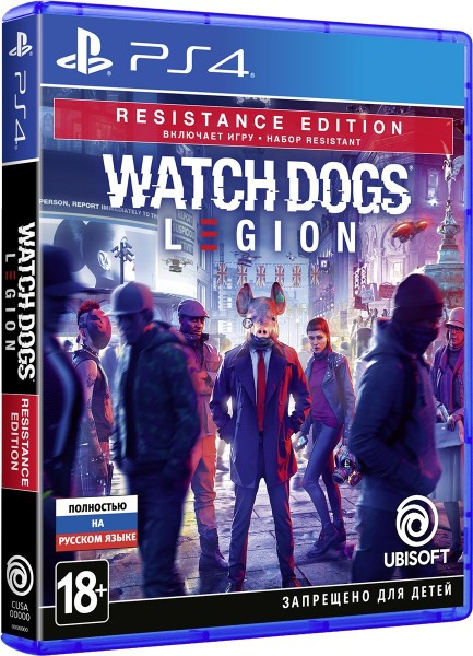 Watch Dogs Legion Resistance Edition | Watch Dogs Легіон PS4