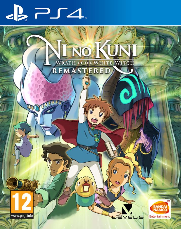 Ni no Kuni Гнів Білої відьми Remastered PS4