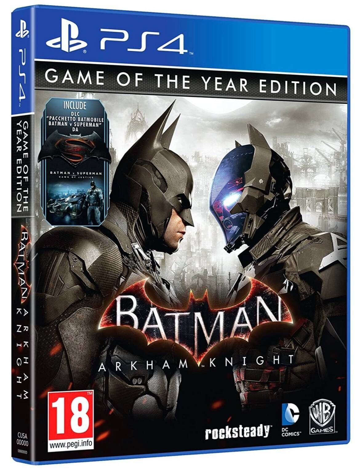 Batman Arkham Knight GOTY PS4