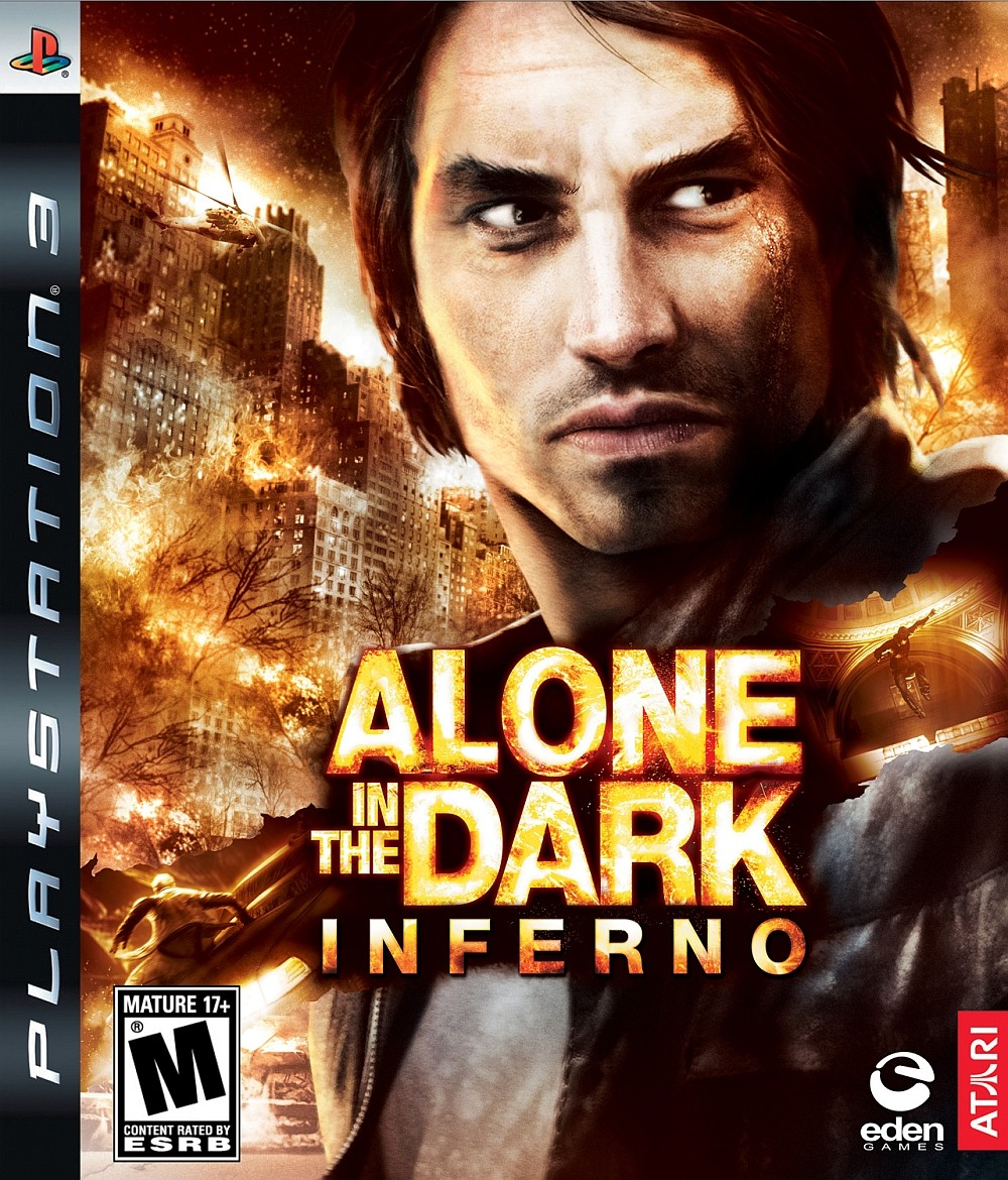 ALONE IN THE DARK: INFERNO б/в PS3
