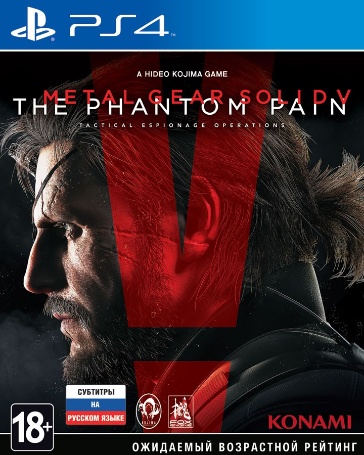 Metal Gear Solid V The Phantom Pain | MGS 5 The Phantom Pain PS4