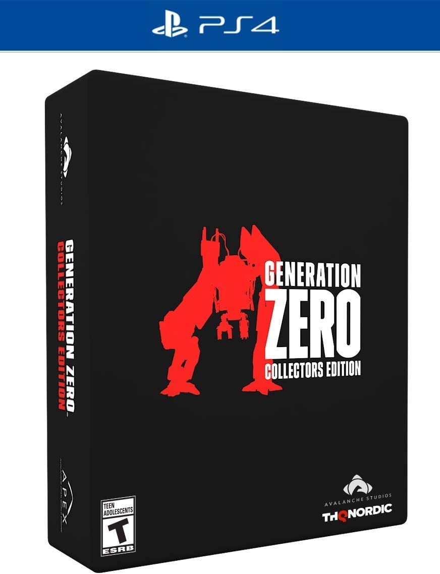 Generation Zero Collector's Edition PS4