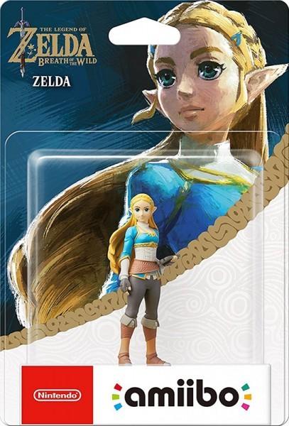 The Legend of Zelda Breath of the Wild: Інтерактивна фігурка amiibo – Zelda