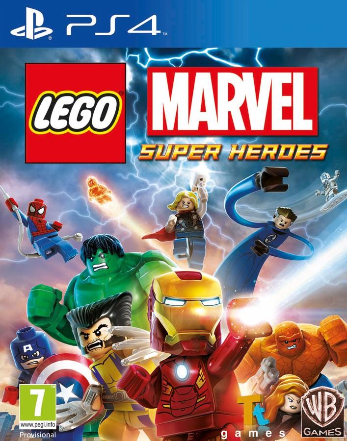 LEGO MARVEL SUPER HEROES | LEGO Marvel Супергерои PS4
