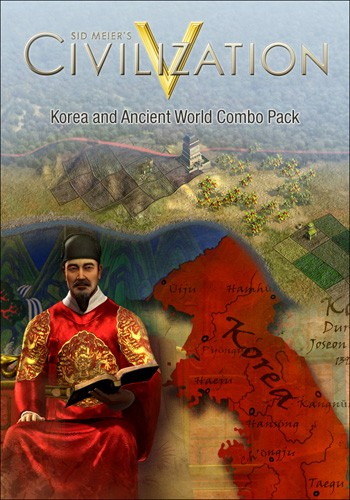 Sid Meier's Civilization V. Korea and Wonders of the Ancient World Combo Pack PC DIGITAL