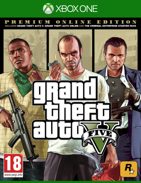 Grand Theft Auto V | GTA 5 Premium Online Edition (рус) XONE