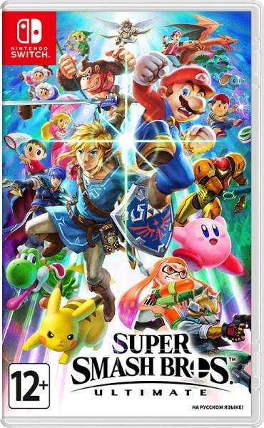 Super Smash Bros. Ultimate б/в switch